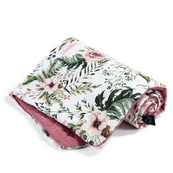 Kocyk La Millou Velvet Collection 80x100 cm Wild Blossom Mulberry