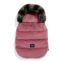 Śpiworek do wózka VELVET COLLECTION ASPEN WINTERPROOF MULBERRY La Millou