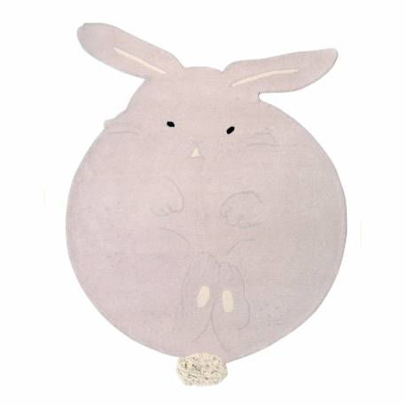 Dywan Wool Rug Chubby The Bunny LORENA CANALS