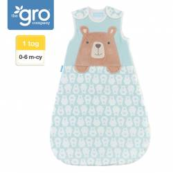 Śpiworek Grobag Bennie the Bear grubość 1 tog 0-6 M