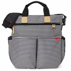 Torba Duo Signature Black/White Stripe Skip Hop