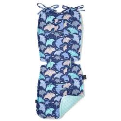 Stroller Pad La Millou THICK Manta Midnight Audrey Mint