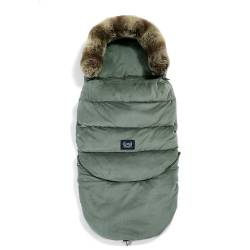 VELVET COLLECTION - ASPEN WINTERPROOF STROLLER BAG COMBO - KHAKI LA MILLOU
