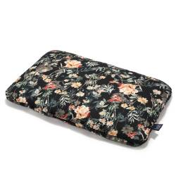 BED PILLOW - 40x60cm - BLOOMING BOUTIQUE NOIR LA MILLOU
