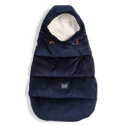 VELVET COLLECTION - ASPEN WINTERPROOF STROLLER BAG BABY - ROYAL NAV