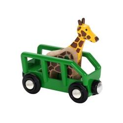 BRIO World Wagon z Żyrafą Safari