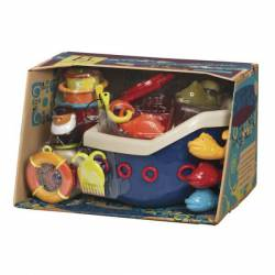 Statek Fish & Splish - zestaw do kąpieli B.Toys