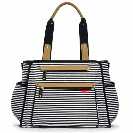Torba Skip Hop Grand Central Black Stripe