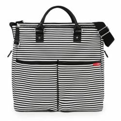 SKIP HOP Torba Duo Black Stripe