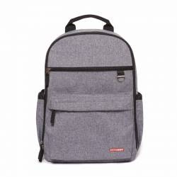 SKIP HOP Plecak Duo Signature Heather Grey