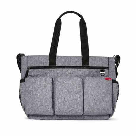 SKIP HOP Torba Double Signature Grey