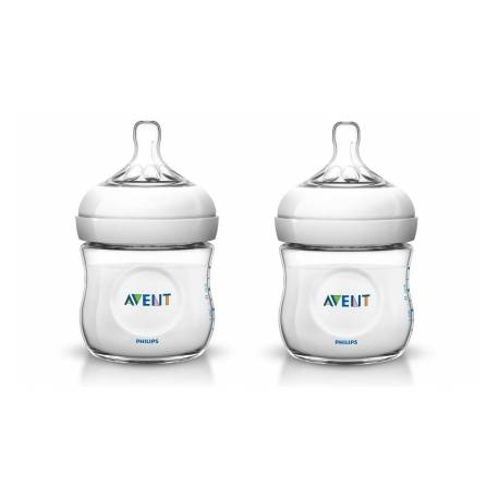 Butelka NATURAL AVENT 125ml x 2 szt
