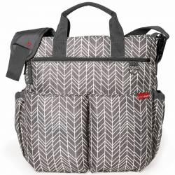 Torba Duo Signature Grey Feather Skip Hop