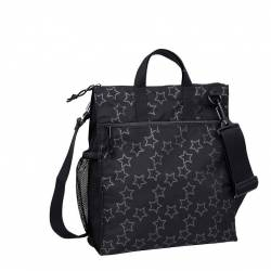Torba Casual Label Lassig Reflective Star Black