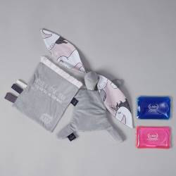 Thermo Bunny Dark Grey La Millou Unicorn Sugar Bebe Velvet Collection