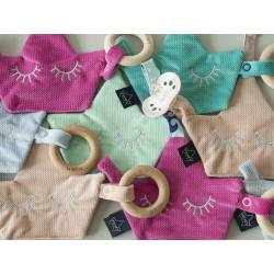 Pacifier Combo Velvet Collection La Millou Rafaello
