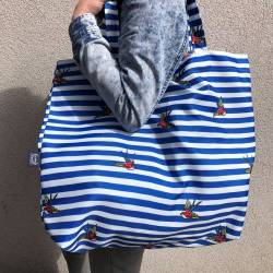 Shopper Bag La Millou Barber Sailor Strips
